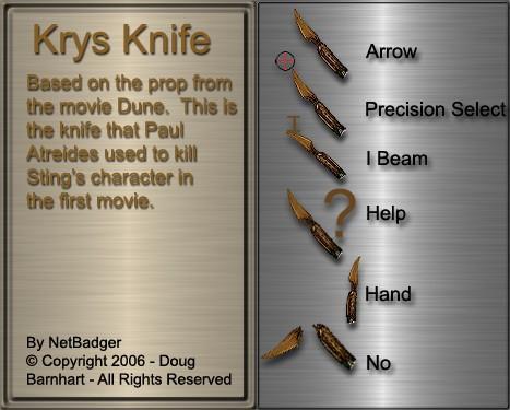 Krys Knife