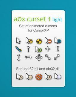 aOx curset 1 light