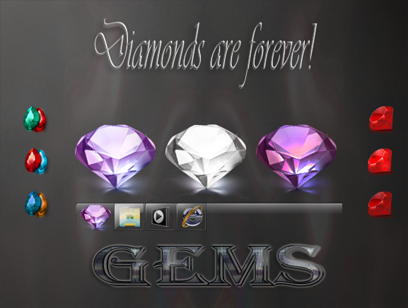 Gems start buttons for 7
