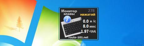 Монитор клавиатуры