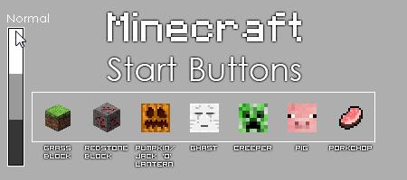 Minecraft Start Orb Pack 1