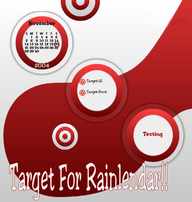 Target Rainlendar