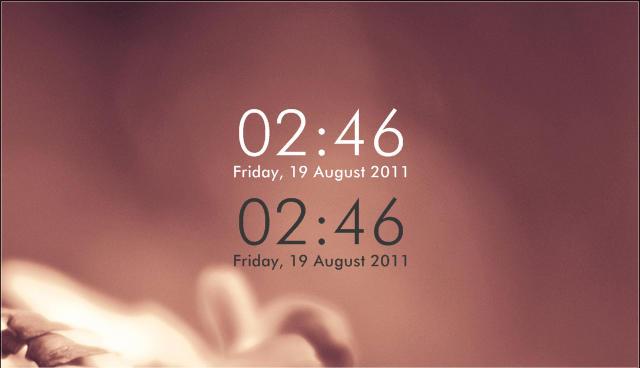 Simplistic Clock