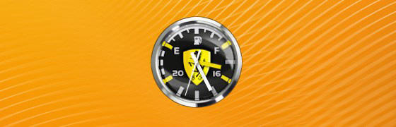Ferrari Clock