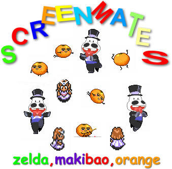 Makibao-Orange-Zelda Screenmates
