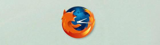 Firefox Clock