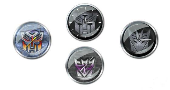 Transformers Clock