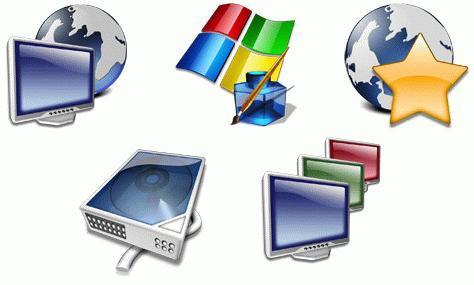 Aqua 2004 Icon Set