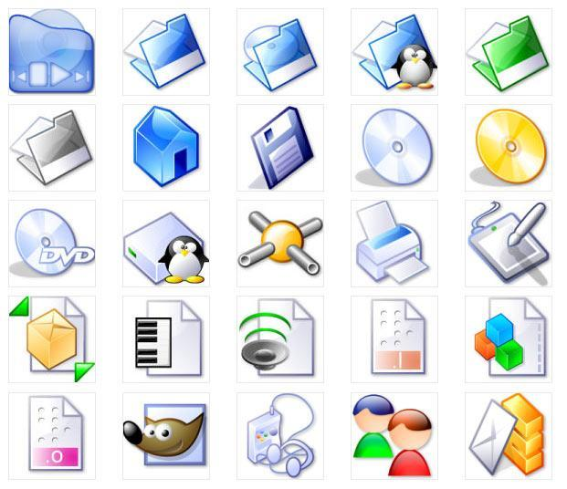 CrystalGT Icons Set