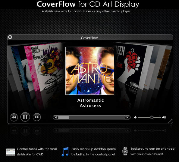 Coverflow for CAD