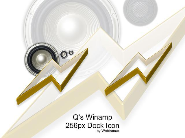 Qs Winamp Dock Icon