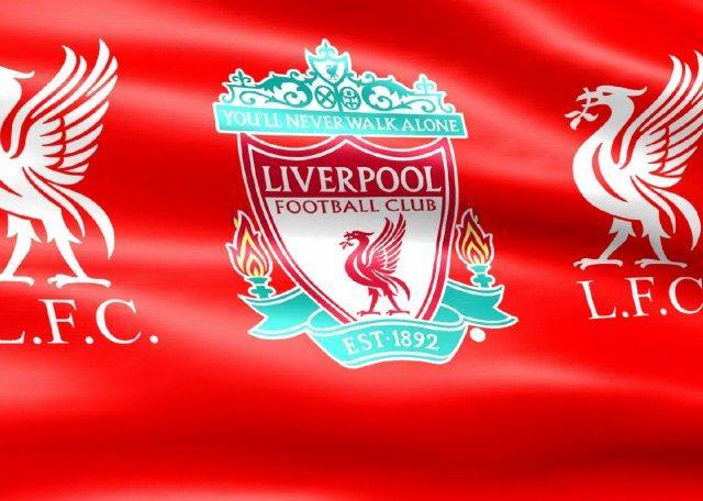 Флаг футбольного клуба Ливерпуль