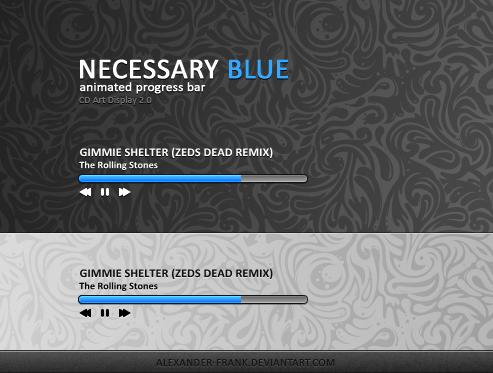 NECESSARY BLUE