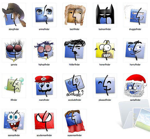 Finder faces