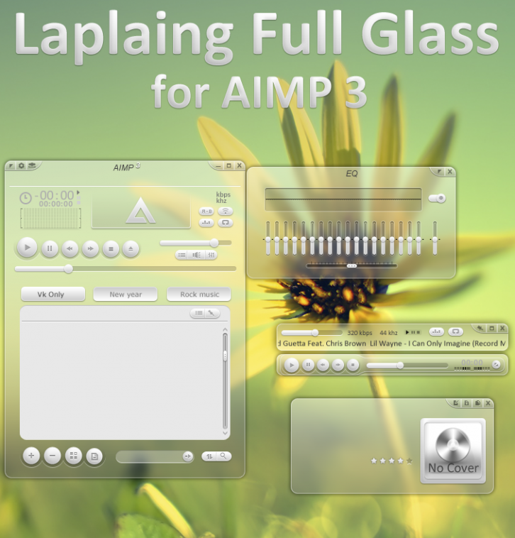 Laplaing Full Glass (Blur)