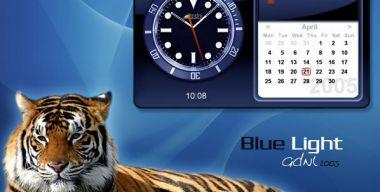 BL Time-Calendar Blue