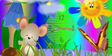 Mouse Clock Screensaver 2.3
