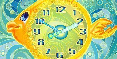 Gold Fish Clock ScreenSaver v.2.3