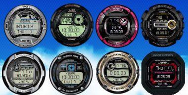 Casio Digital Clocks