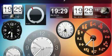 HTC sense clocks