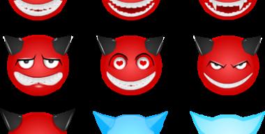 Смайлики-чёртики