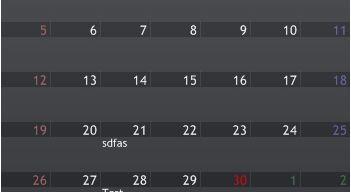 Schedual Calendar