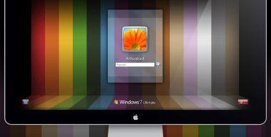 Alpha. Windows 7 Logon