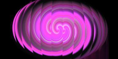 Розовый воздушный шар