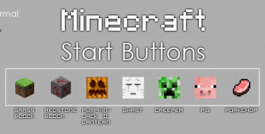 Minecraft Start Orb Pack 1