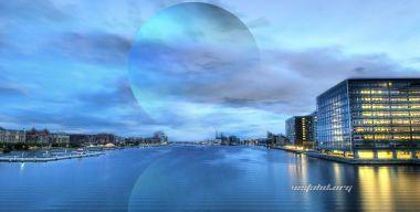 Голубая река