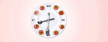 Tomato Lunch Clock
