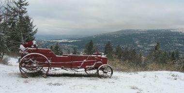 Красный фургон