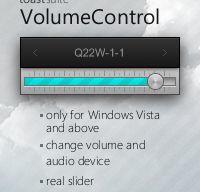 toastSuite VolumeControl