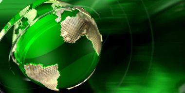Зеленый глобус