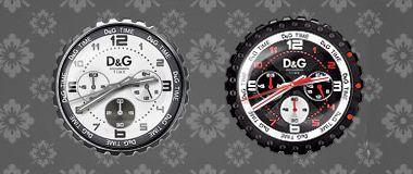 D&G Navajo Clock