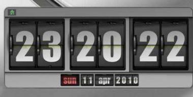 Date Flip Clock
