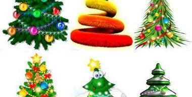 Animated Christmas Tree for Desktop 2012