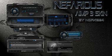 Nefarious Aimp3 skin