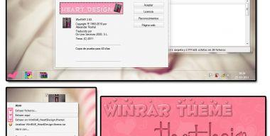 Theme For Winrar HeartDesing