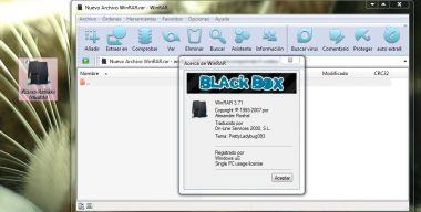 Theme WinRar Black Box
