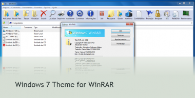Windows 7 Theme for WinRAR