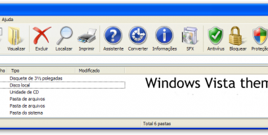 Windows Vista theme for WinRAR