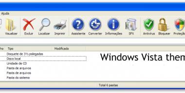 Windows Vista theme for WinRAR