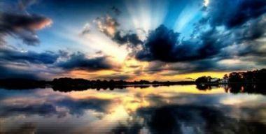 Озеро-закат
