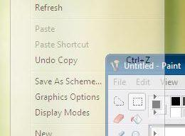 Transparent Context Menu