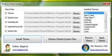Windows Themes Installer