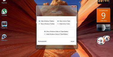 Taskbar Hider build 2 Windows 7