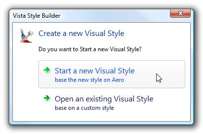 Windows Style Builder