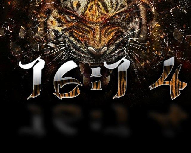 Часы Тигр