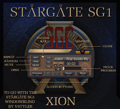 Stargate SG1 for Xion